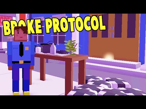 SELLING DRUGS TO THE POLICE!? We Get Sent to Prison! - Broke Protocol Alpha Free GTA Gameplay