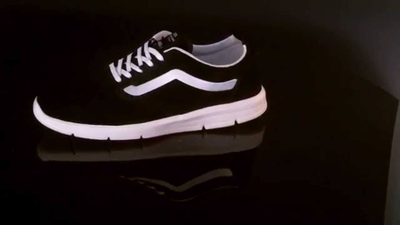 69597b52bc31d9 Vans M ISO 1 5 Sneaker Scotchgard Black VXB8I62 - YouTube