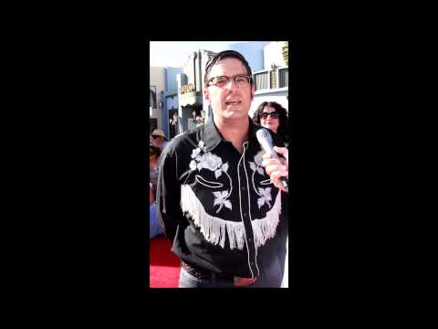 Crash and Bernstein Voice Actor & Puppeteer Tim Lagasse at the Lone Ranger Premiere