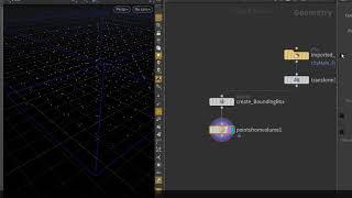 Vertex Density Heatmap - 02: Houdini intro & Sampling Points