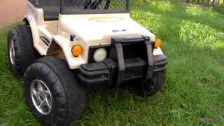 Электромобиль Hummer(Детский электромобиль Hummer - выгодная покупка для большой и дружной семьи. Хаммер рассчитан на двоих детей:..., 2014-08-28T20:03:27.000Z)