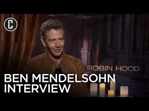 Ben Mendelsohn Interview Robin Hood