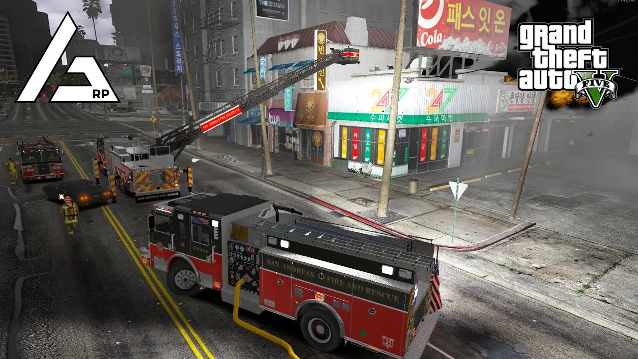 GTA 5 Roleplay - ARP New Fire Vehicles!