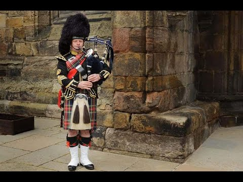 What does a bagpiper do at a wedding?