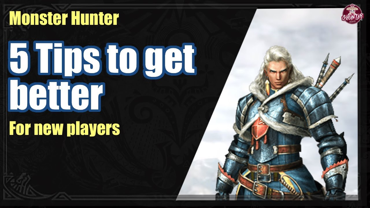5 Tips to get better at Monster Hunter thumbnail