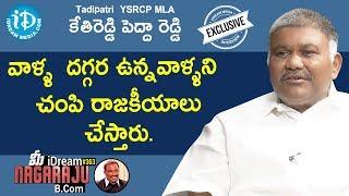 Tadipatri YSRCP MLA Kethireddy Pedda Reddy Exclusive Interview    మీ iDream Nagaraju B.Com #363