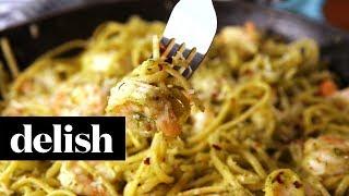 Shrimp Pesto Pasta | Delish + Realtor®