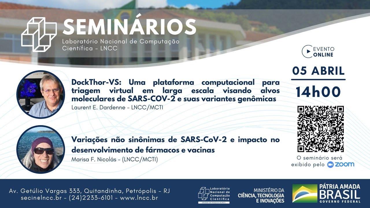 Download 05/04/2021 - Seminário LNCC - Marisa Nicolás e Laurent Dardenne  (LNCC/MCTI)