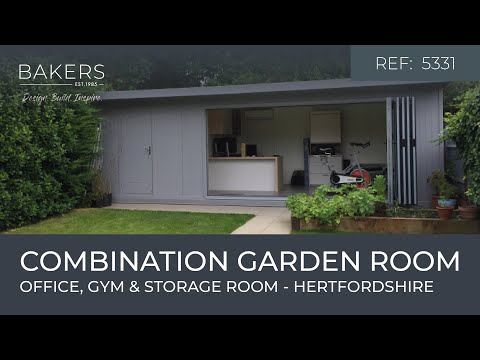 Combination Garden Office Gym And Store 5331 In St Albans