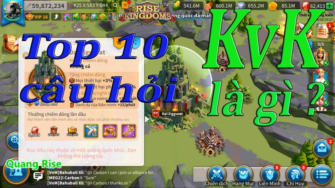 KvK là gì ? | Rise of Kingdoms