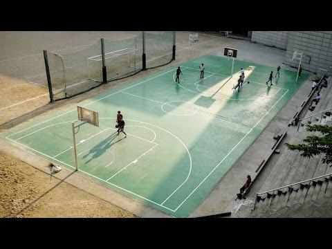 Solar powered sports lighting basketball court youtube solar powered sports lighting basketball court aloadofball Images