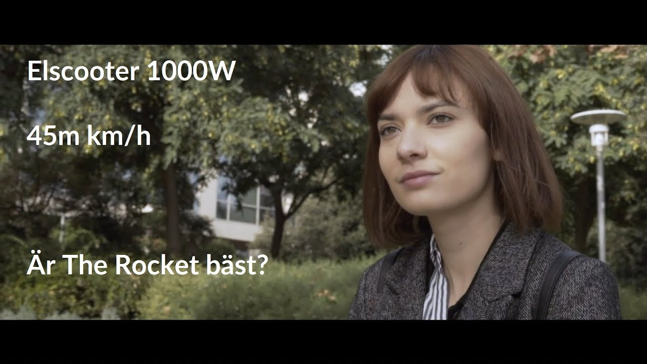 Elscooter 1000w