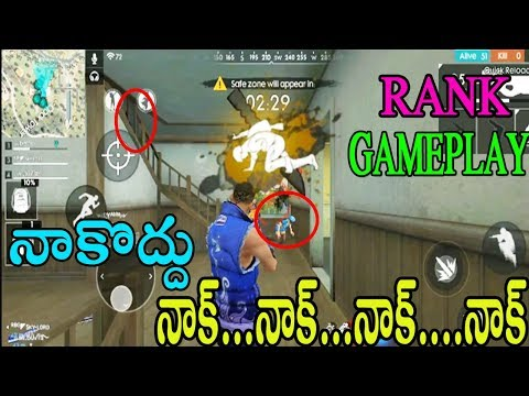 Free Fire Rank Game play | Funny Game Play | Rank Match Tips And Tricks | Telugu Gaming Zone