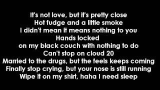 Repeat youtube video Jhene Aiko Ft. Childish Gambino - Bed Peace (Lyrics)