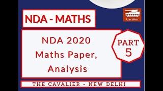 NDA 2020  Paper Solution paper 5