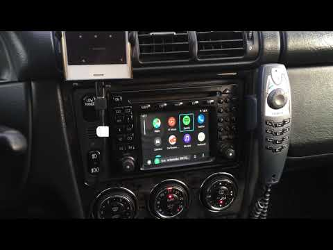 Mercedes Comand 2.0  Android Auto CarPlay Interface