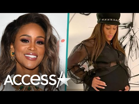 Eve Reveals She's Pregnant w/ First Child