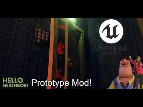 OMG So Cool! - Hello Neighbor Prototype Mod thumbnail
