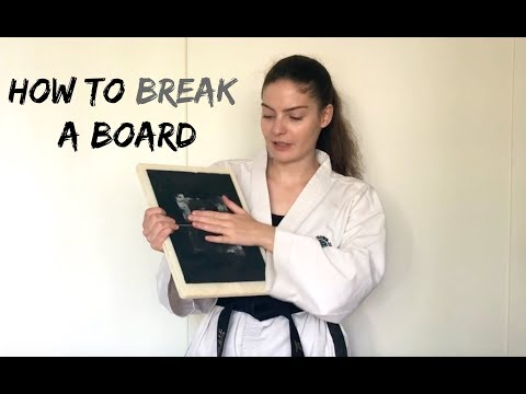 How to Break a Board | Step by Step Guide 🥋The Martial Artist's Way