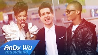 Panic! At The Disco, Rihanna, T. I. - HIGH HOPES / LIVE YOUR LIFE ft. The Verve