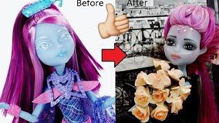 Repainting MONSTER HIGH Haunted Student Spirits Kiyomi Haunterly