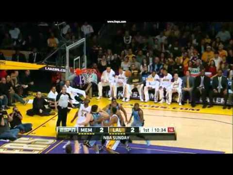 Pau Gasol Poor Shots vs Memphis