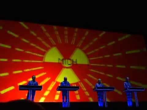 Kraftwerk Radio Aktivitat Mai 16 2014 Wien BurgTheater