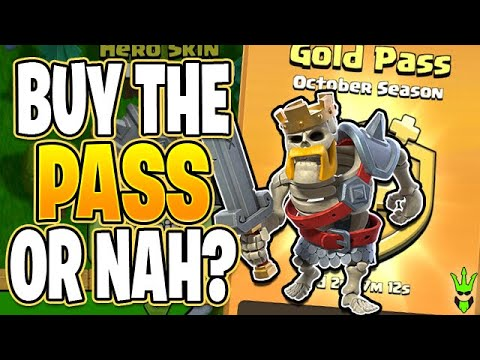 THE BIGGEST DEBATE EVER: TO BUY THE GOLD PASS OR NOT! - Clash Of Clans
