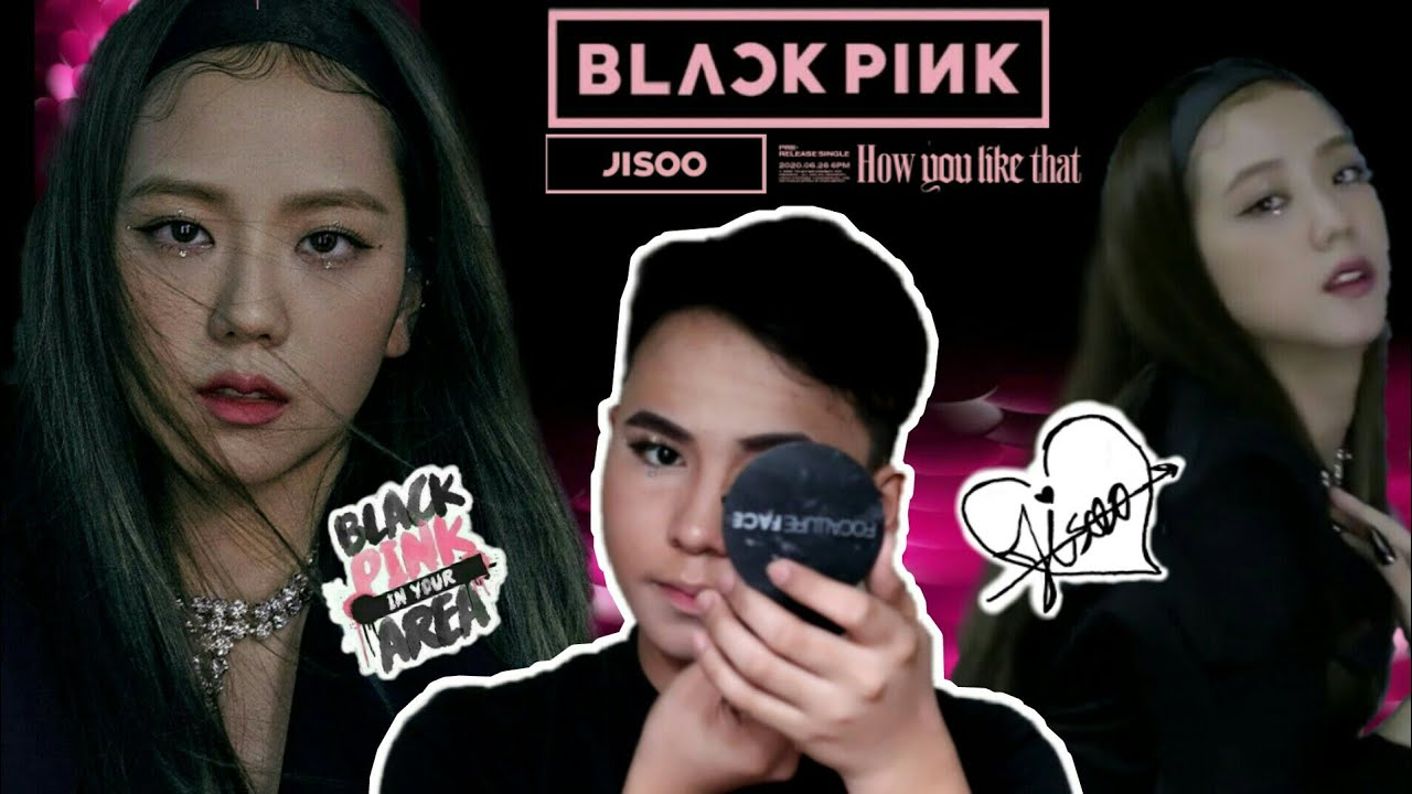 BlackPink | How You Like That Jisoo Inspired Look Makeup Tutorial