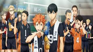 HAIKYUU! Ending song collection 1-5 full size.