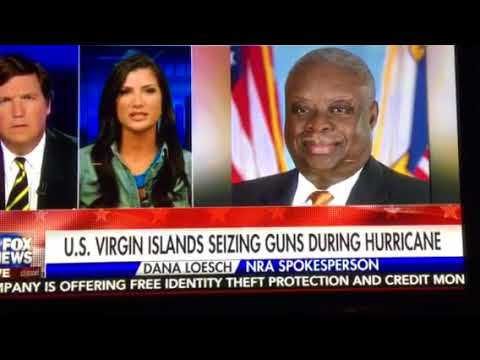 US Virgin Islands Seizing Guns During Hurricane Irma!