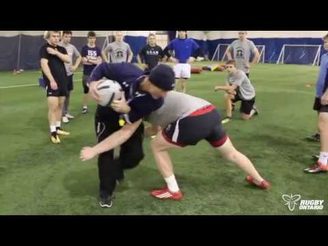 Rugby Ontario's Coaching Corner - Core Skills | Footwork & Ball Out of Contact