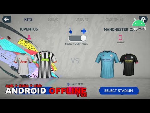 Game Android Offline FIFA20 V1 Mod Link + Cara Install - 동영상