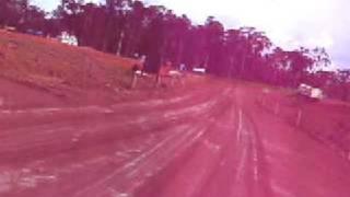 Estrada de acesso ao canteiro de obras da UHE Santo Antonio