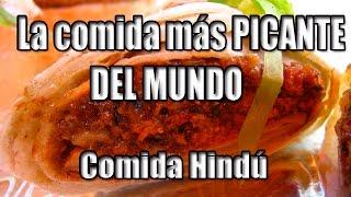 La comida más PICANTE DEL MUNDO  Xander & Jen   Comida Hindú