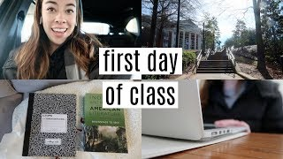 first day of classes: college day in my life 2019
