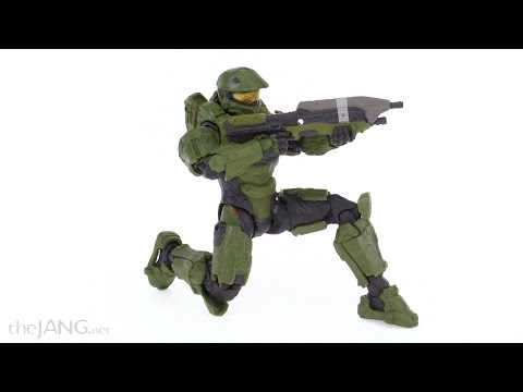 """Mattel Halo 6"""" Series 1 Master Chief figure review"""