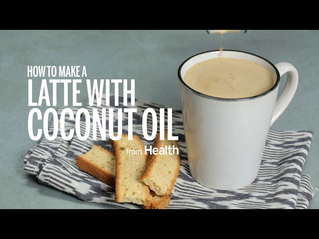 How to Make a Latte With Coconut Oil | Health