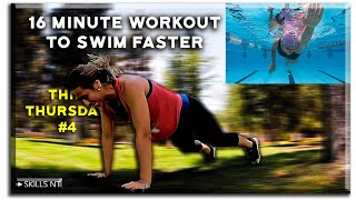 Core and arms workout to help you swim faster. Follow along. Dryland. Thin Thursday #4