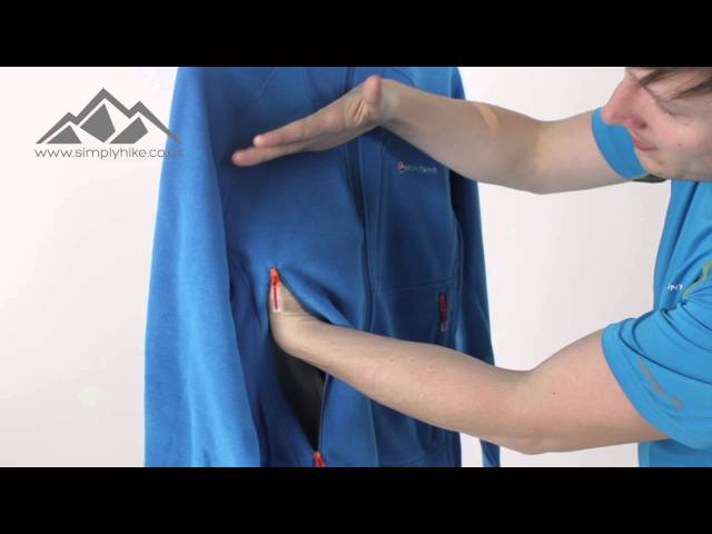 Montane Mens Volt Fleece Jacket Electric Blue - www.simplyhike.co.uk