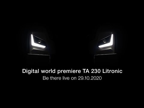 Liebherr - Digital world premiere of the new TA 230 Litronic
