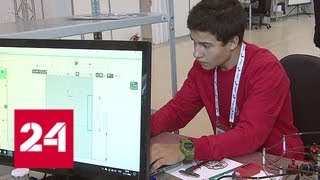 Студенты со всей страны приехали в Москву на финал чемпионата WorldSkills Russia - Россия 24