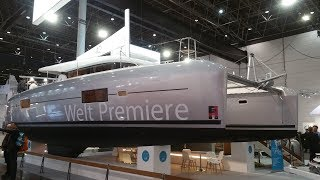 Lagoon 42 catamaran walkthrough at Dusseldorf BOOT 2016