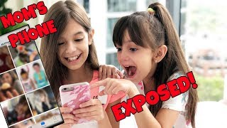 WE REACT to Our MOM'S Camera Roll!