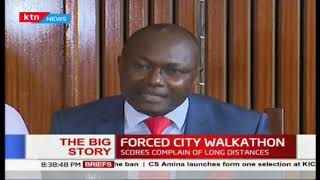 \'We were not consulted\': Ban on matatu from CBD condemned by many leaders | The Big Story Part 2