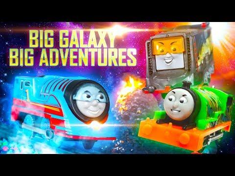 Into the Glow Dimension! | Big Galaxy Big Adventures #3 | Thomas & Friends
