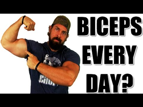 Can You Train Biceps Daily? [The TRUTH About Overtraining]