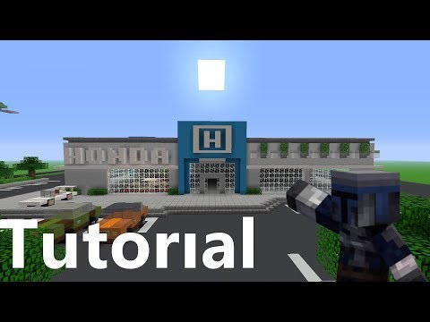 Minecraft-Car Dealership Tutorial/Part 1