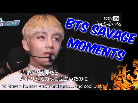 BTS Savage Moments