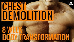 ULTIMATE CHEST WORKOUT | 8 Week Body Transformation